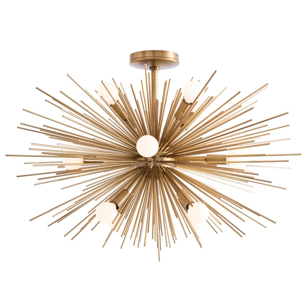 arteriors sculptural light zanadoo chandelier