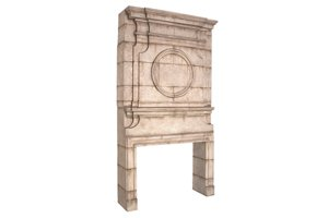 Bellagio Fireplace Surround And Overmantle