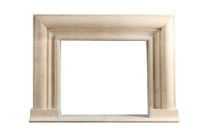 Bullnose Fireplace Surround
