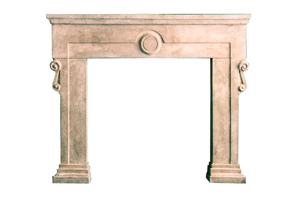 Circle Fireplace Surround