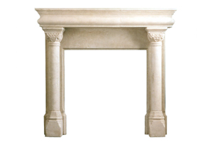 Column Fireplace Surround