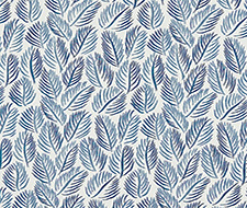 Armature Feuilles Wallpaper – Cobalt – Christopher Farr Wallpaper