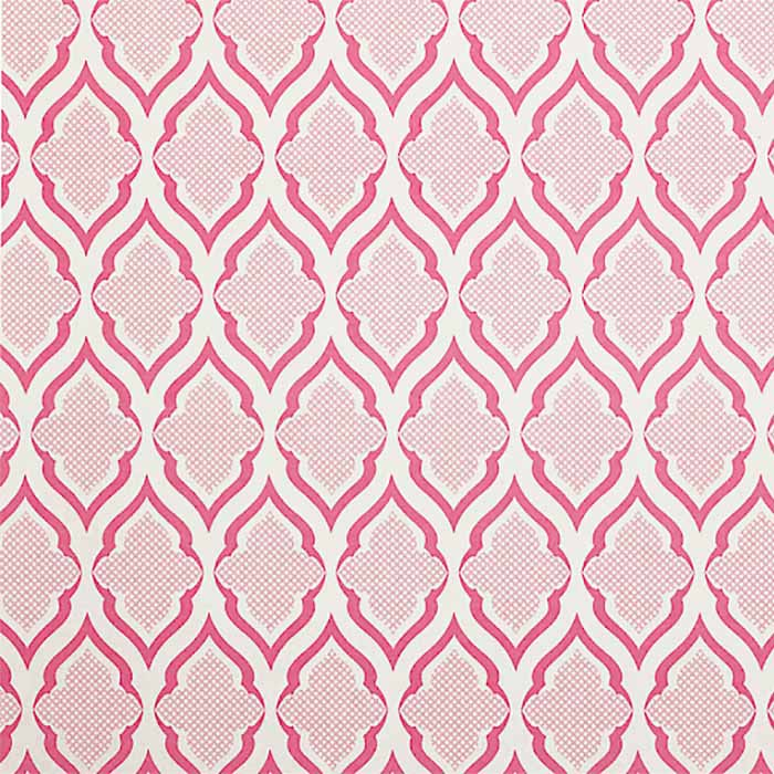 Ravenna - Fuchsia - Christopher Farr Wallpaper