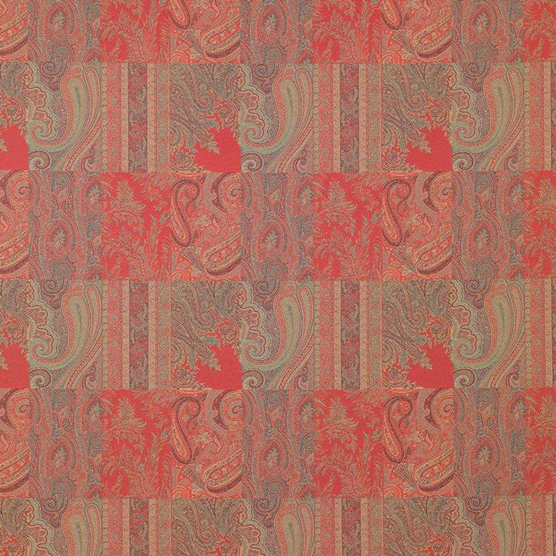 65061-1 Assembly - Rosso - 1 - Clarence House Fabric
