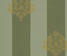 AB10/D Sherbourne Stripe – Green – Clarence House Wallpaper