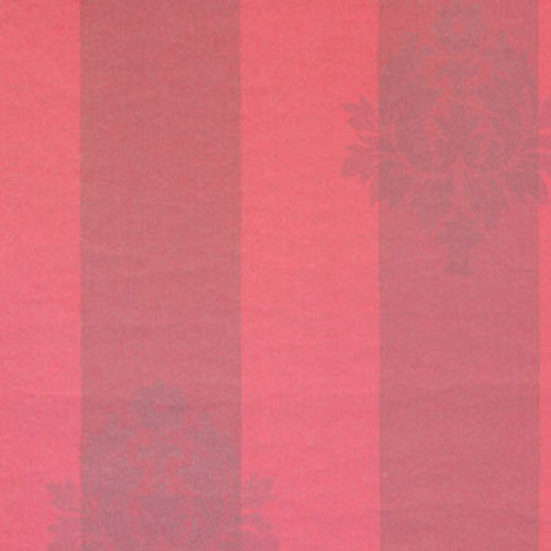 AB12/D Sherbourne Stripe - Red - Clarence House Wallpaper
