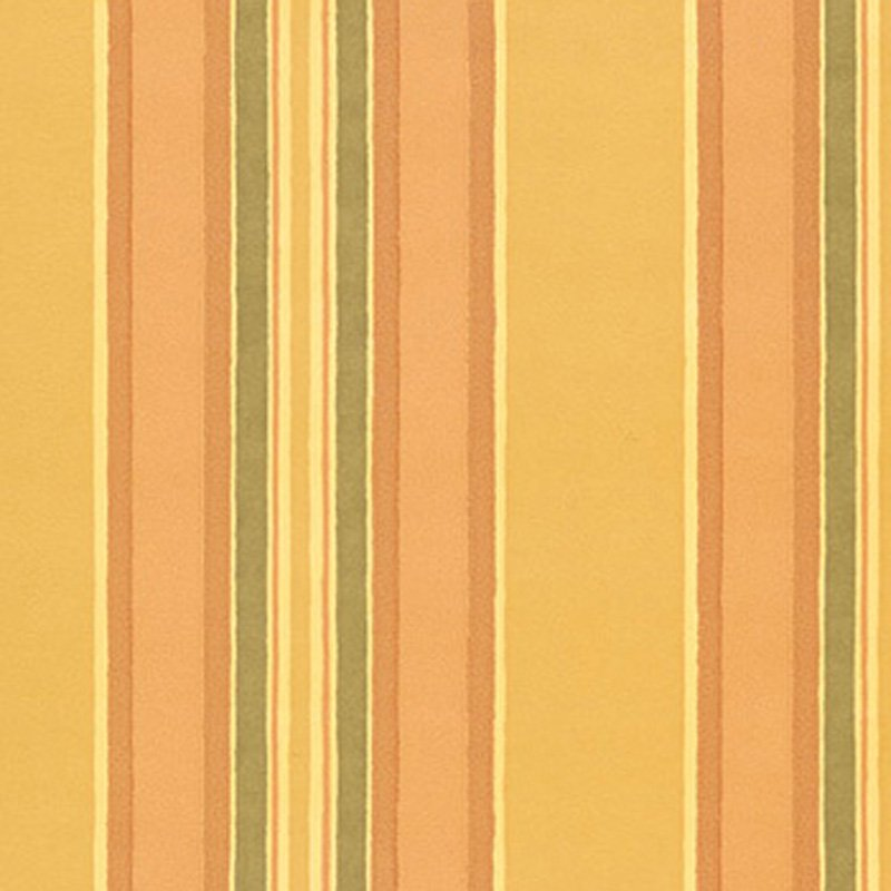 AB203 Sorbonne Stripe - Yellow - Clarence House Wallpaper