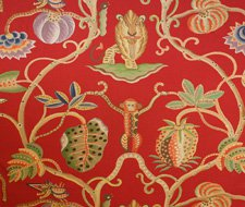 34054-3 Jembala – Red -3 – Clarence House Fabric