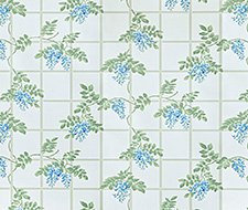 JMPTRE-4 Trellis Templeton – True Blue – Clarence House Wallpaper