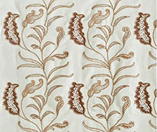 P894 Cactus Paisley Embr. – Duck Egg – Clarence House Fabric