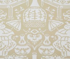 6801-11 The Vase Wallpaper – Beige-11 – Clarence House Wallpaper
