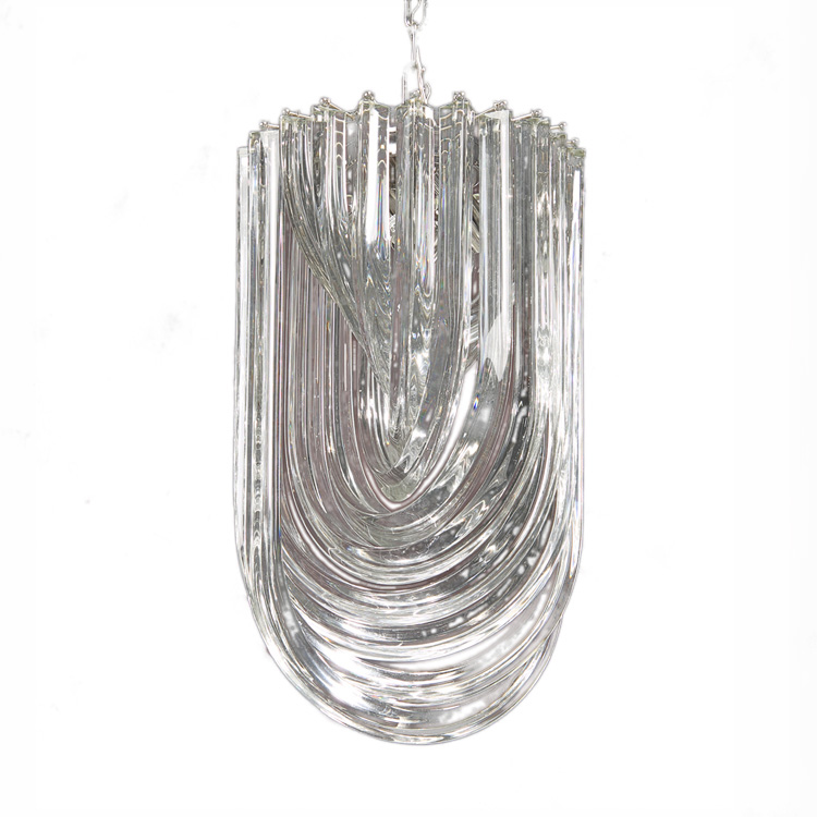decorative crafts lighting buca chandelier silver
