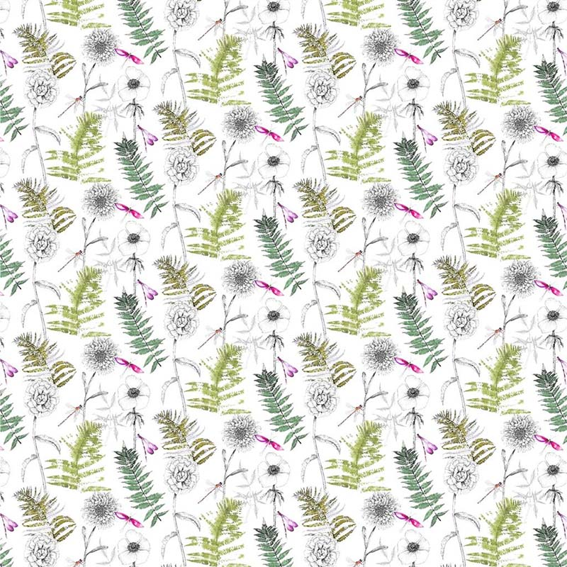 Fdg2878 02 Acanthus Outdoor Moss Designers Guild Fabric