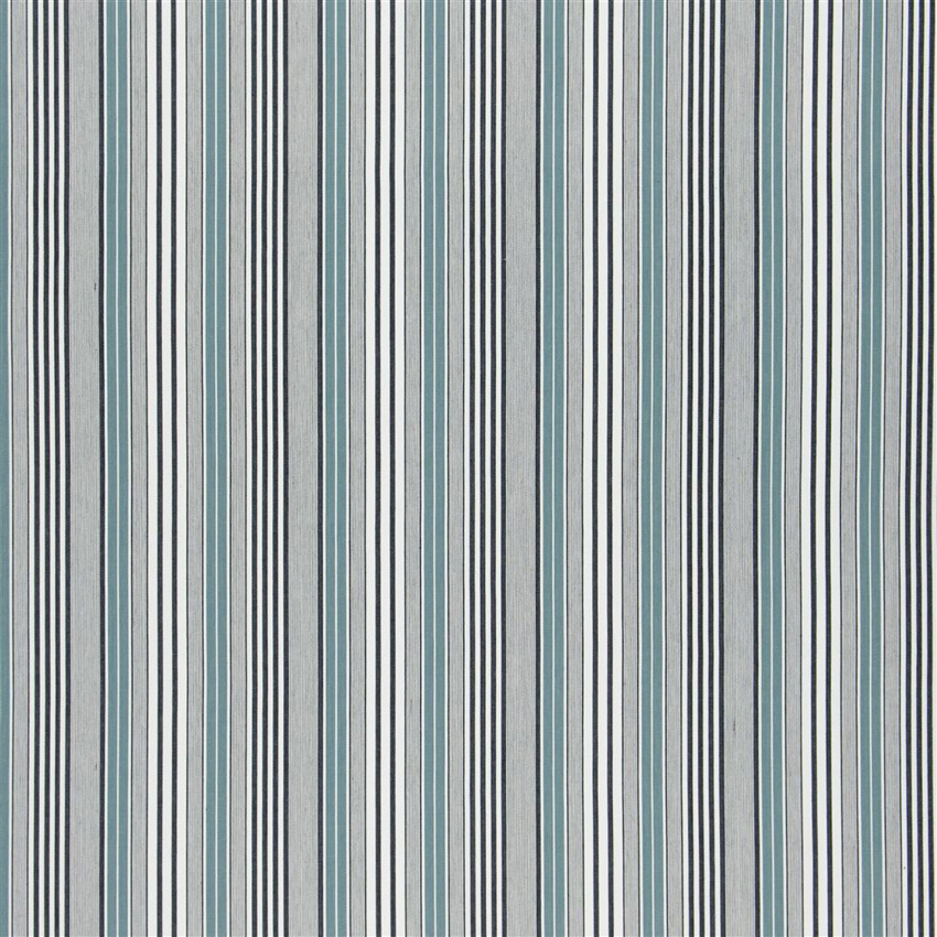 F1907/03 Pinstripe - Teal - Designers Guild Fabric