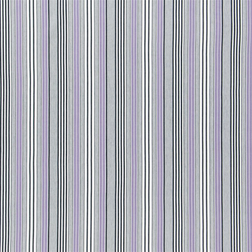 F1907/08 Pinstripe - Heather - Designers Guild Fabric