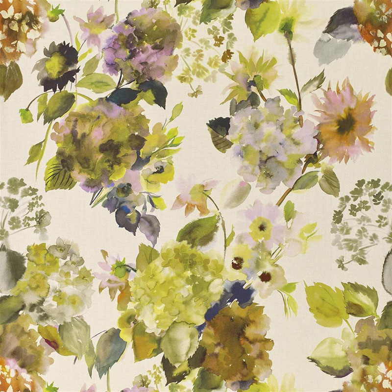 FDG2855/02 Palace Flower Grande - Moss - Designers Guild Fabric