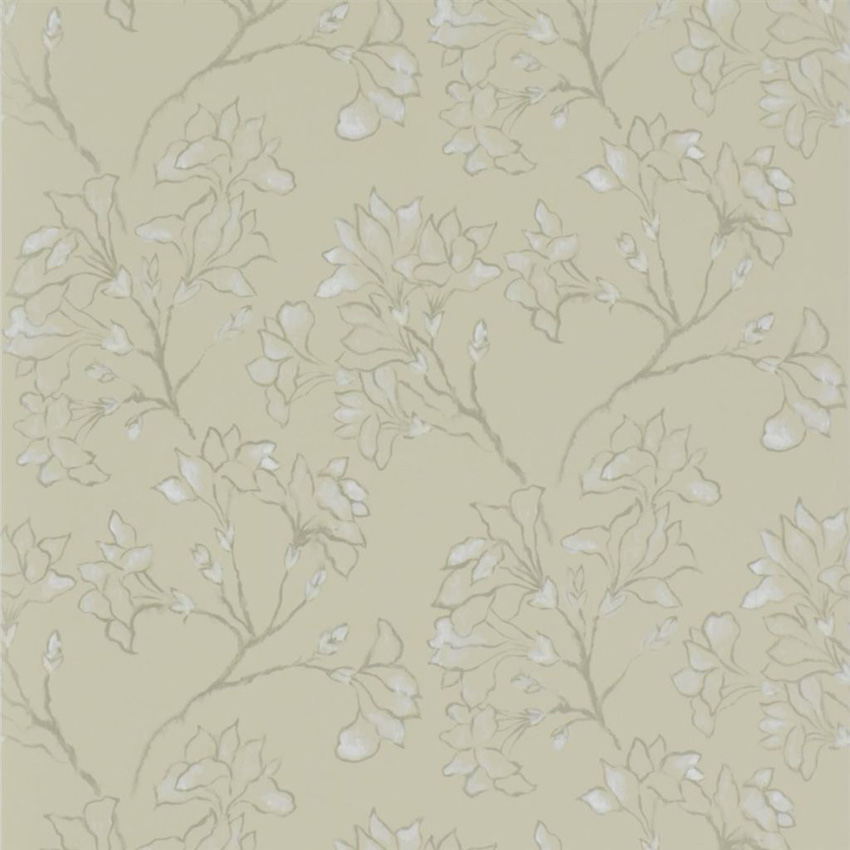 P580/03 Magnolia Tree - Linen - Designers Guild Wallpaper