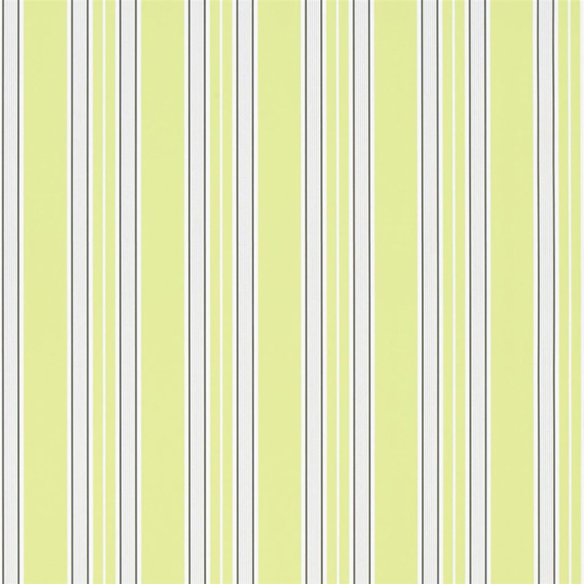 P586/07 Pinstripe - Lime - Designers Guild Wallpaper