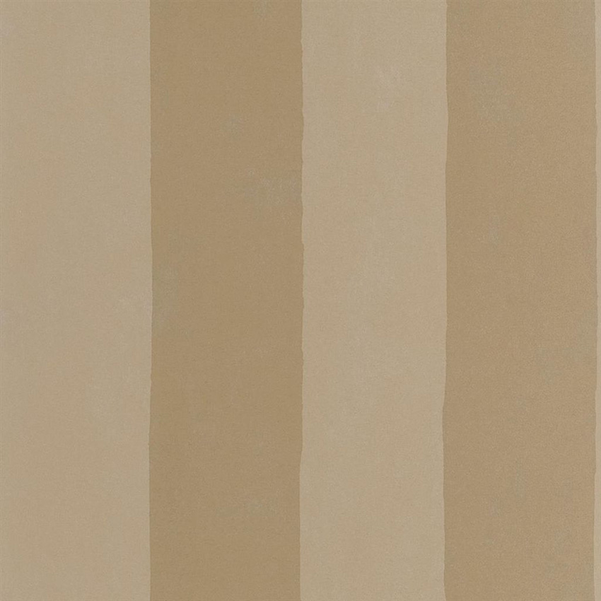 PDG720/05 Parchment Stripe - Burnished Gold - Designers Guild Wallpaper