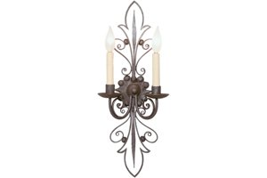 Claudia 2 Light Sconce