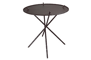 Milo Accent Table w/Metal Top