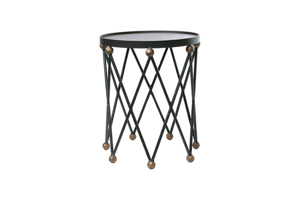 Ryman Accent Table w/Metal Top