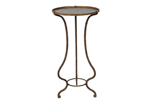 Alicia Accent Table with Metal Top