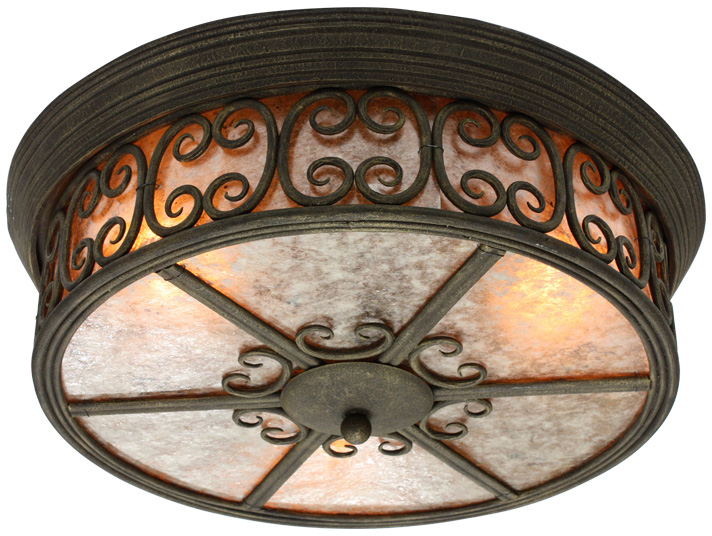 Roma 3 Light Ceiling Mount