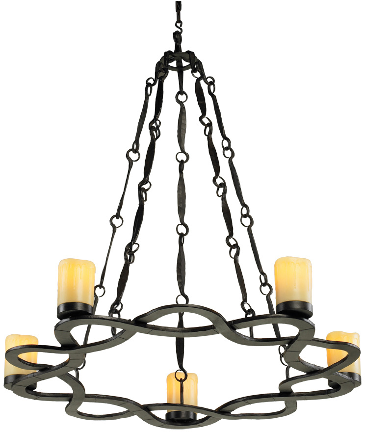 Auberon 5 Light Chandelier