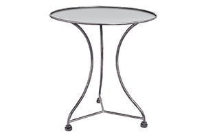 Julian Side Table w/Metal Top