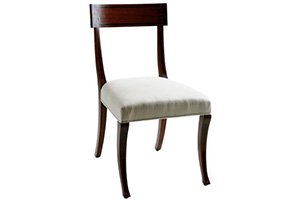 Ebony Inlay Sidechair