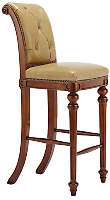 Chesterfield Barstool - Armless