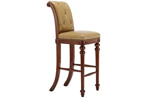 Chesterfield Barstool – Armless