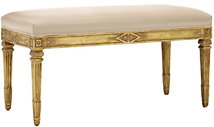 Mish Bench - Gilt