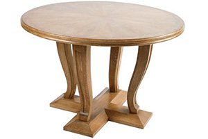 French Oak Center Table