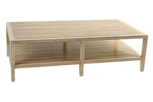 Slatted Ship's Coffee Table