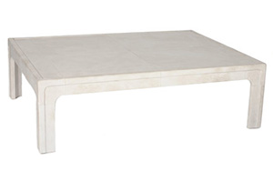 Harcourt Coffee Table – Parchment
