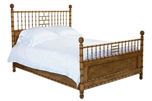 Faux Bamboo Bed – Queen