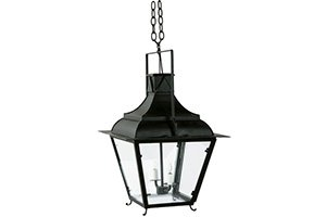 French Tole Lantern – 2 Light