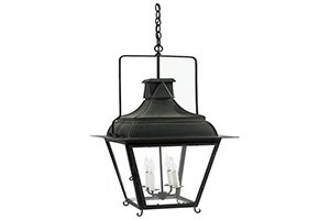 French Tole Lantern – 4 Light