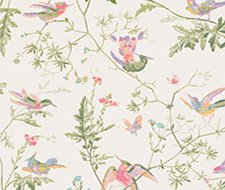 100/14067.CS Hummingbirds – Soft Multi-Colour – Cole & Son Wallpaper