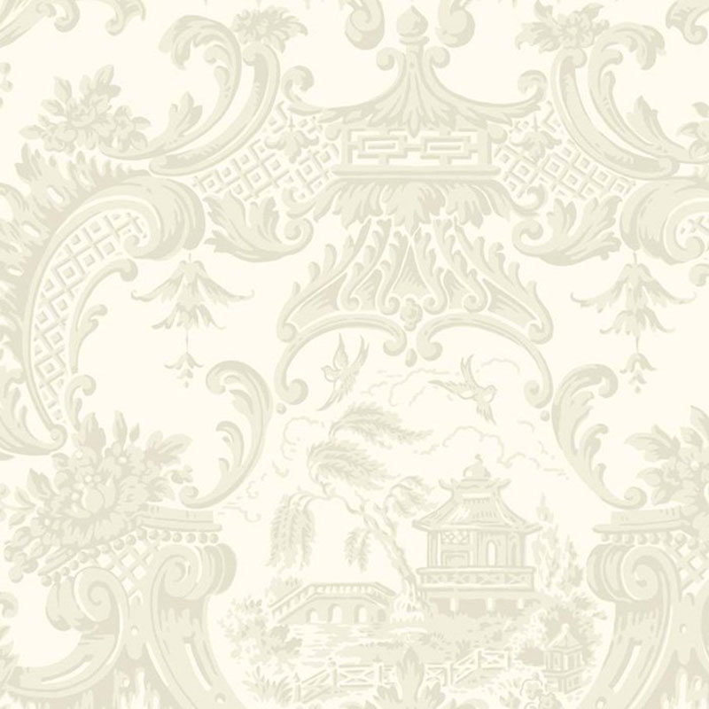 Cole and Son Chippendale China Ivory Wallpaper 100/3010.cs.0