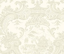 100/3010.CS Chippendale China – Ivory – Cole & Son Wallpaper