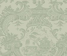 Cole and Son Chippendale China Olive Wallpaper 100/3013.cs.0