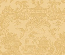 100/3014.CS Chippendale China – Yellow – Cole & Son Wallpaper