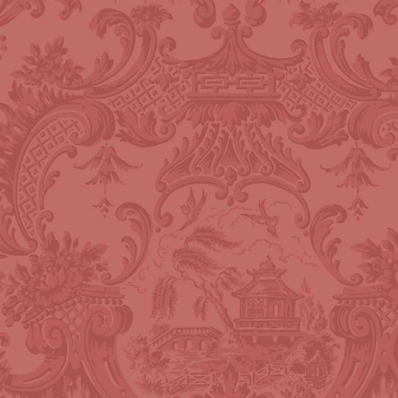 Cole and Son Chippendale China Red Wallpaper 100/3015.cs.0