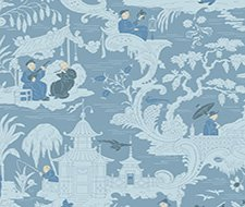 100/8038.CS Chinese Toile – Blue – Cole & Son Wallpaper