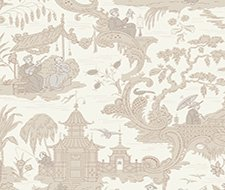 100/8039.CS Chinese Toile – Neutral – Cole & Son Wallpaper