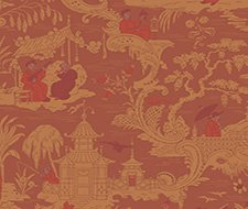 100/8041.CS Chinese Toile – Red – Cole & Son Wallpaper