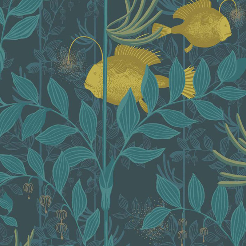103/4018.CS Nautilus - Dark Blue - Cole & Son Wallpaper